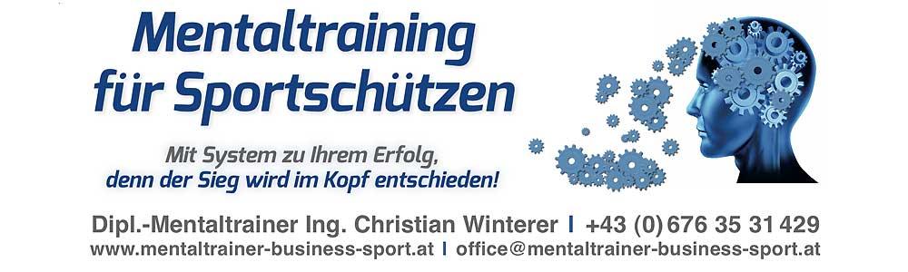 Mentaltraining Sportschützen Österreich/Wien & Deutschland/Bayern LOGO Ing. Christian Winterer Dipl. Mentaltrainer - MENTALES TRAINING/COCHING - kognitiven Fähigkeiten, die Belastbarkeit, das Selbstbewusstsein, die mentale Stärke 1000 × 300